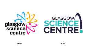 Old / New Glasgow Science Centre Logo