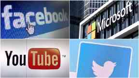 Internet giants such as Facebook and YouTube have come under pressure to help remove online propaganda.