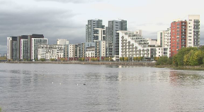 Glasgow Harbour: Buildings are being investigated.