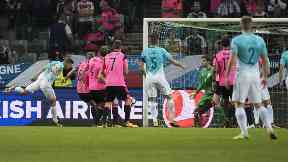 Equaliser: Slovenia's goal changed everything.