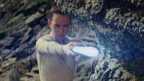 Last Jedi: Agency worked on Star Wars film (file pic).