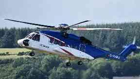 Bristow: Pilot jobs at risk (file pic).