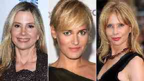 Mira Sorvino, Judith Godreche and Rosanna Arquette (left-right).