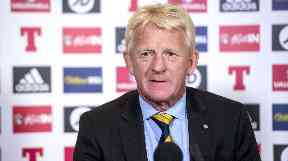 Departure: Strachan will not continue as manager.