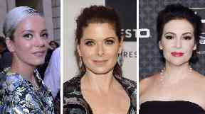 Lily Allen and Debra Messing were just two of the stars who responded to Alyssa Milano's post.