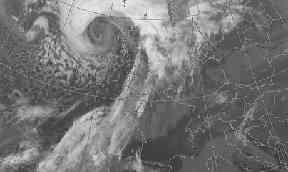 Low Q: Devastating hurricane thought to have originated in Bermuda.