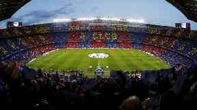 Mr Ross could be running out at the Camp Nou instead of the Commons.