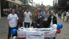 Ruth Davidson: Part of cross-party Better Together alliance.