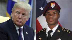 Donald Trump's call to the family of Sergeant La David Johnson has sparked controversy