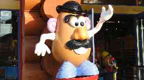 Mr Potato Head: Toy first came to prominence in the 1950s.