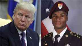 Donald Trump called the families of servicemen killed in an ambush in Niger