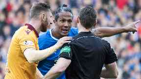 Charged: Alves faces a ban or hearing.