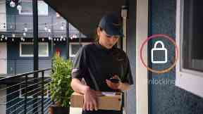 Amazon's key service will allow trusted couriers to open the door.