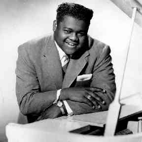 Fats Domino in 1956