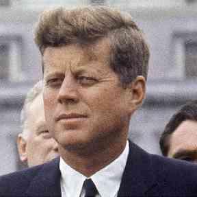 John F Kennedy was assassinated on 22 November 1963.