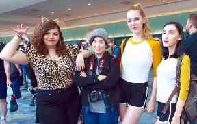 Josie, Jughead, Betty, and Veronica.