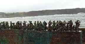 The Berwickshire statue commemorates the 189 fishermen who died in 1881.