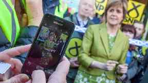 Social media: No other Scottish party comes close to the SNP's online reach.