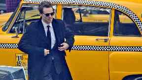Entertainment: Benedict Cumberbatch filming in Glasgow.