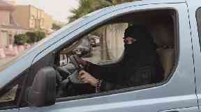 Saudi women were given permission to drive in September.
