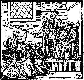 Trial: Many women and some men were found guilty of witchcraft.