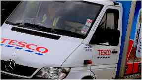 Tesco: Steve Bernard relies on the service.