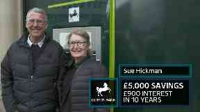 Sue Hickman says she is waiting for the economy to 'pick up'.