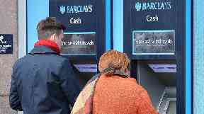 There are currently more than 70,000 ATMs across the country.