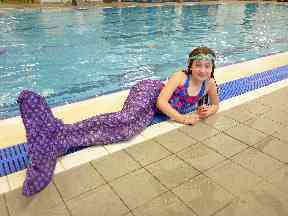 Lindsay could launch mermaid classes for adults in the future.