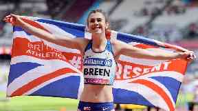 World Championships gold medallist Sophie Breen.