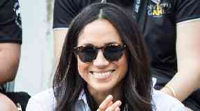 Meghan Markle and her sister Samantha appeared to fall out.