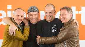 Reunited: The original cast returned after 20 years for Trainspotting 2.