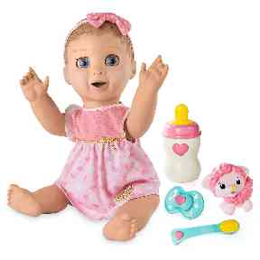 Baby: this is one doll kids won't get sick of quickly.