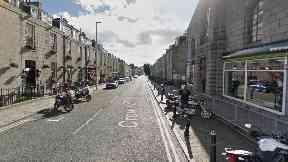 Crown Street: Forensic teams were called.
