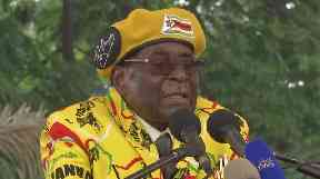 Mr Mugabe claimed his vice-president had consulted witch doctors in a bid to oust him