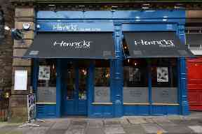Welcome: Henricks serves breakfast until 1pm.