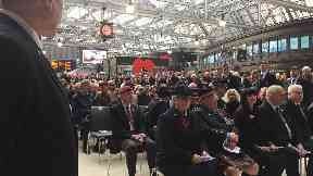 Ceremony: An event will take place at Glasgow Central.