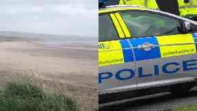 Irvine: Investigation under way near beach.