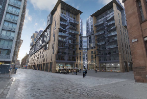 Glasgow: Artists' impression of the redevelopment.