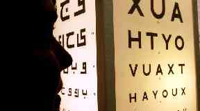 Optometrists are concerned about drivers' eyesight.
