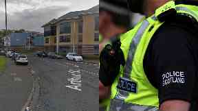 Greenock: Attacker was wearing dark clothes.