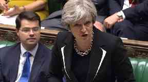 Theresa May said it was obviously an 'uncertain political situation' in Zimbabwe.