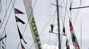 The accident happened during the Clipper yacht race.