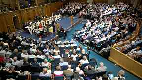Kirk: Church of Scotland says thousands are suffering.
