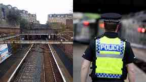 Greenock: Commuters asked to avoid area.