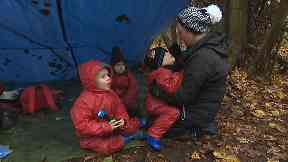 Welly Wanderers: Children spending time in the woods.