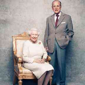 The pair married at Westminster Abbey on November 20, 1947.