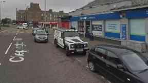 Scotmid: Woman hit by white Fiat van.