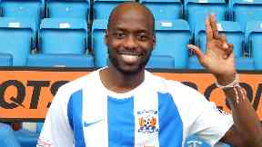 Deal: Mulumbu has joined Kilmarnock.