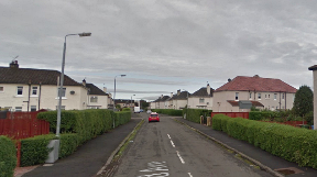 Fulwood Avenue: Intruder ran away when woman called for help.